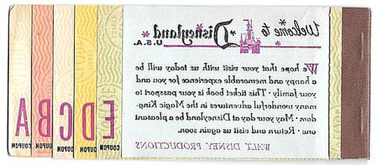 ticket disneyland d'occasion