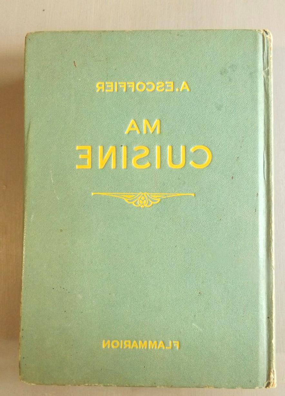 Livre Cuisine Ancien Escoffier D Occasion