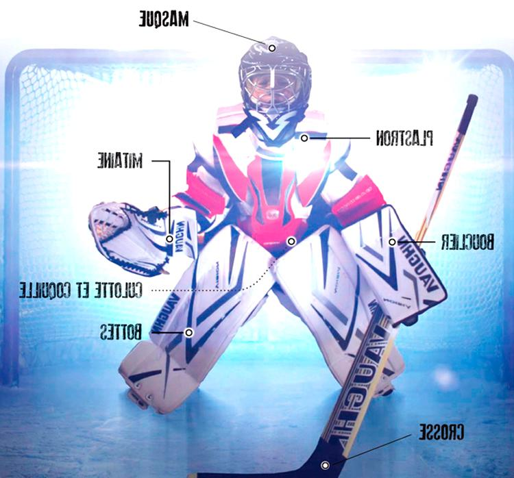 equipement hockey gardien d'occasion
