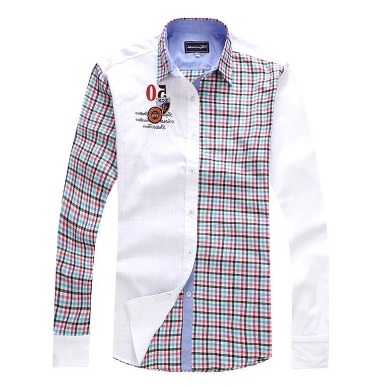 bon service style de mode fournisseur officiel chemise faconnable