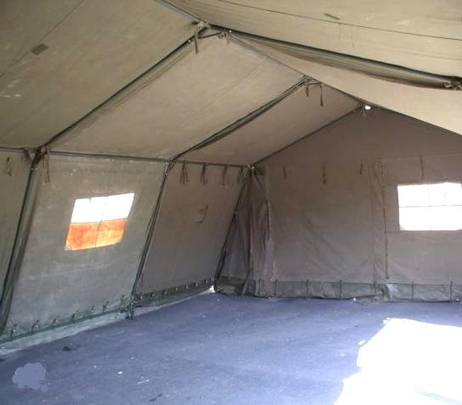 tente militaire toile d'occasion
