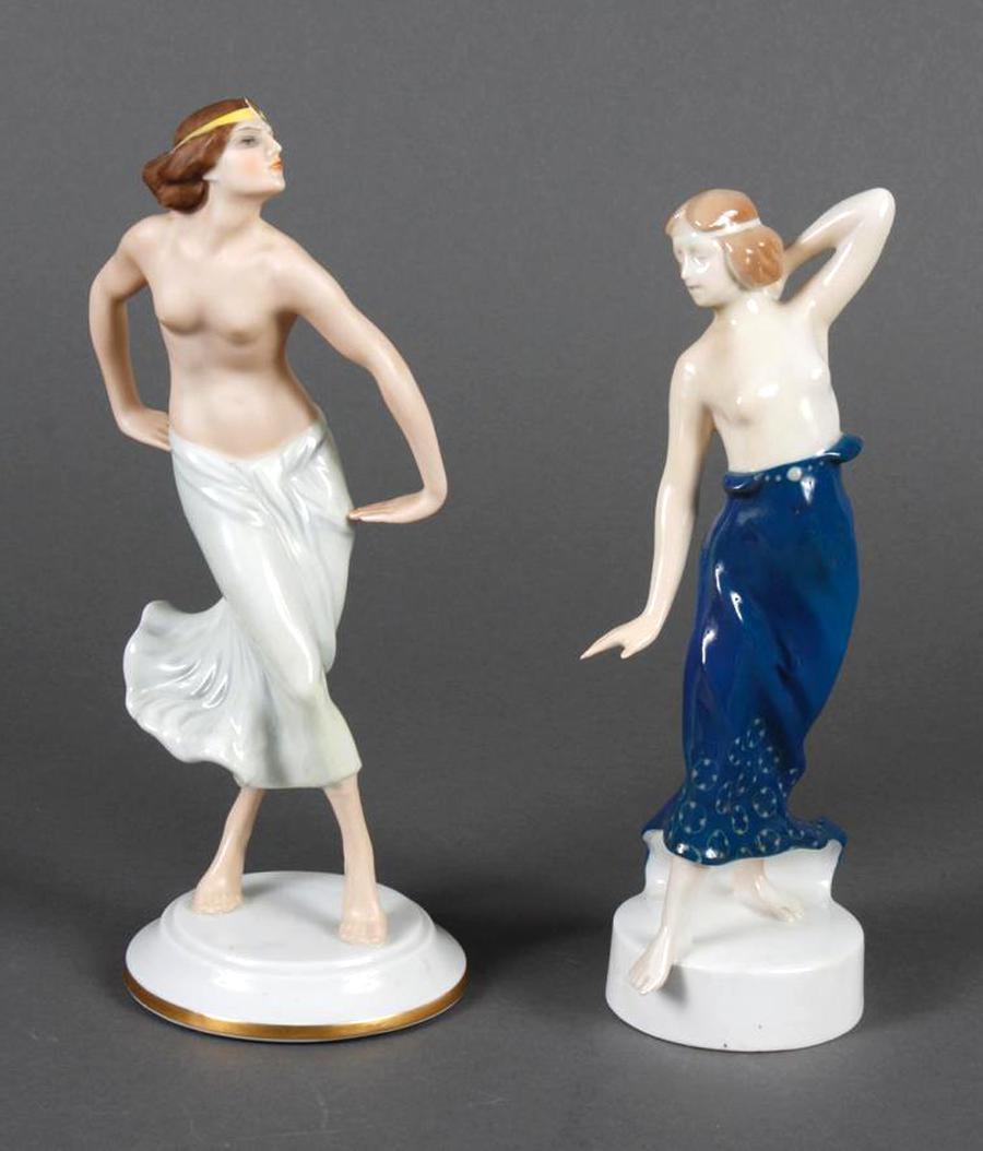 porcelaine art deco figurines d'occasion