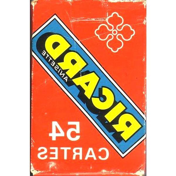 jeu cartes ricard d'occasion