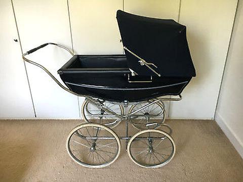 Landau pour poup/ées Travel System Silver Cross Sleepover tissu Eton Grey Recommand/é pour les enfants de 5 /à 9/ans.