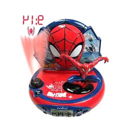 radio reveil spiderman projecteur d'occasion