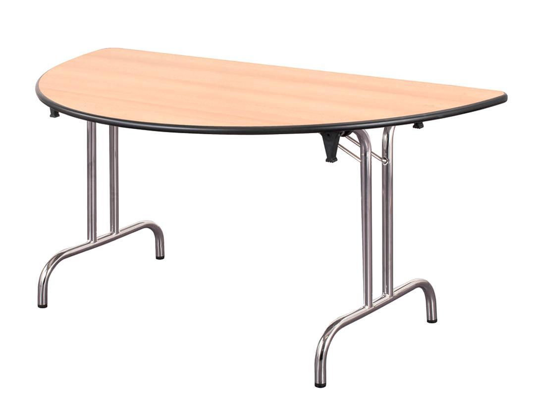table demi lune pliante d'occasion