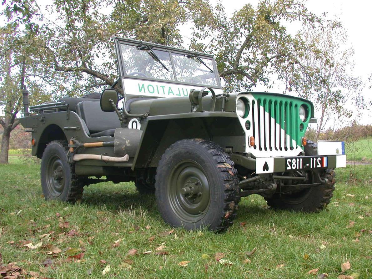 Willys M201 Doccasion Plus Que 2 à 75