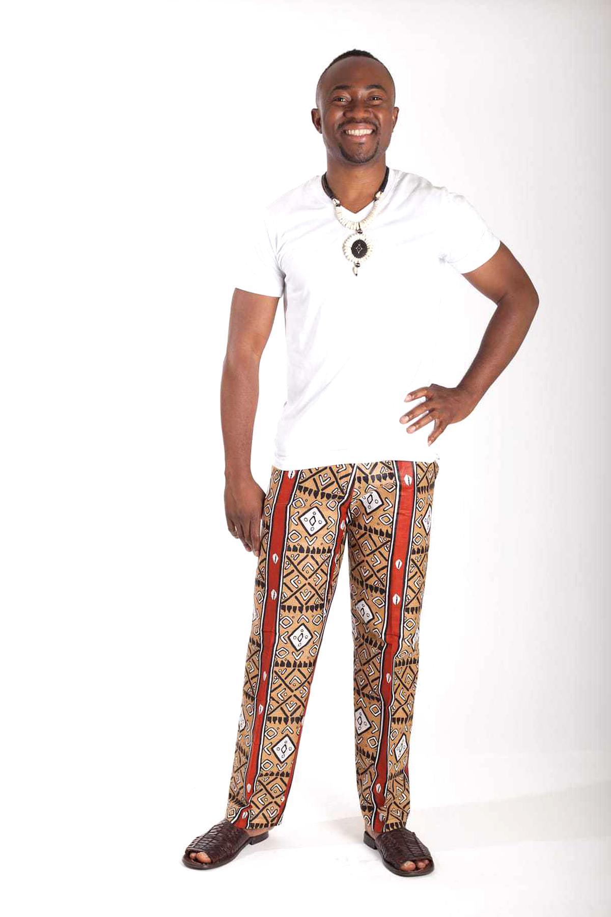 pantalon africain homme d'occasion