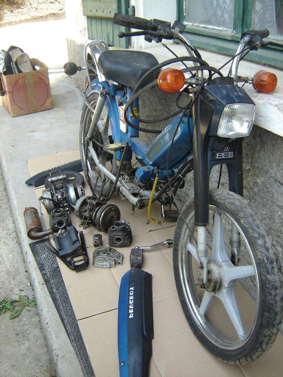 Pedale Cyclo Adaptable Peugeot 103 SP-mvl-MBK 51 Motoris/é SELECTION P2R Paire