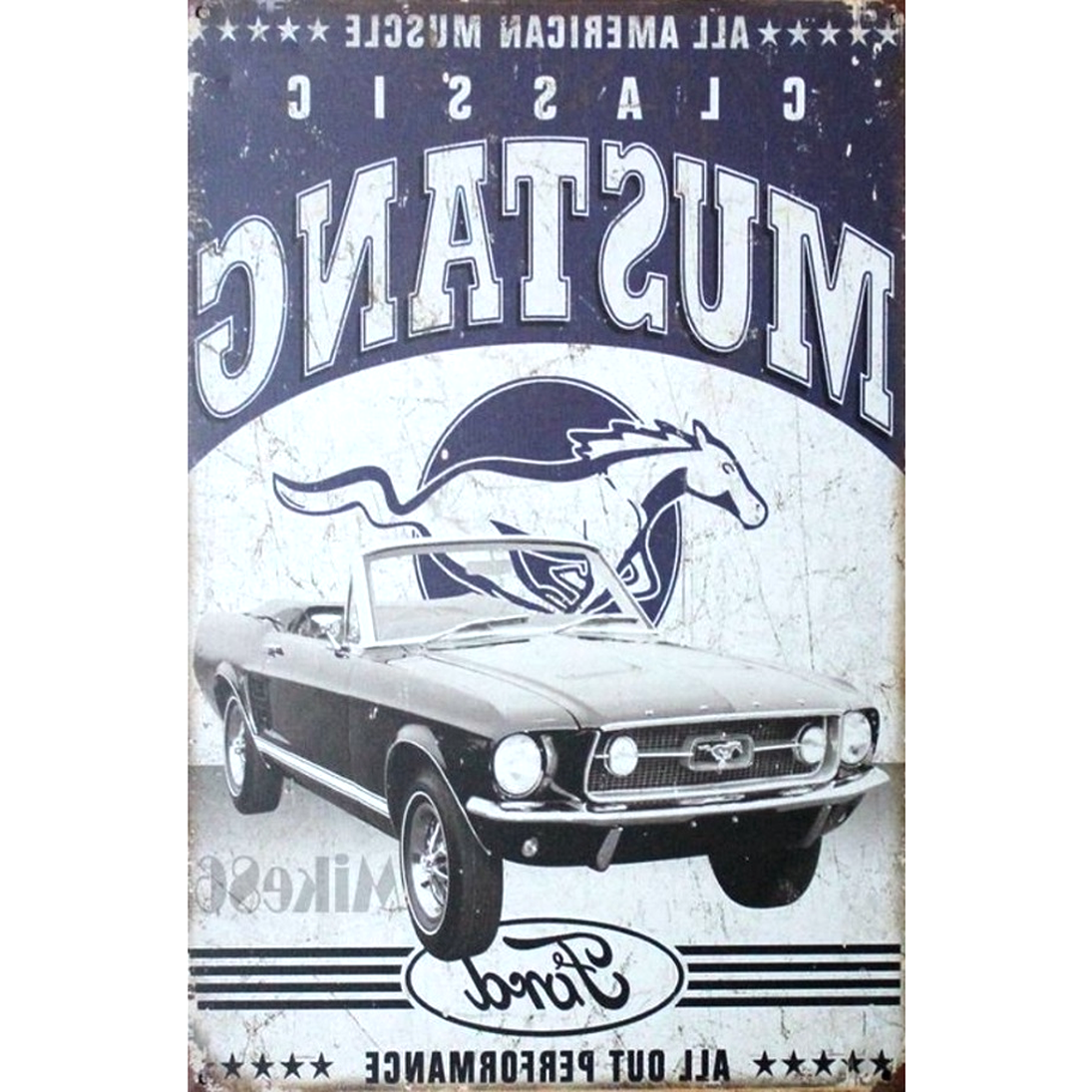 Logo Plaque Las Vegas USA Inconnu hotrodspirit tole Deco Affiche Metal Deco