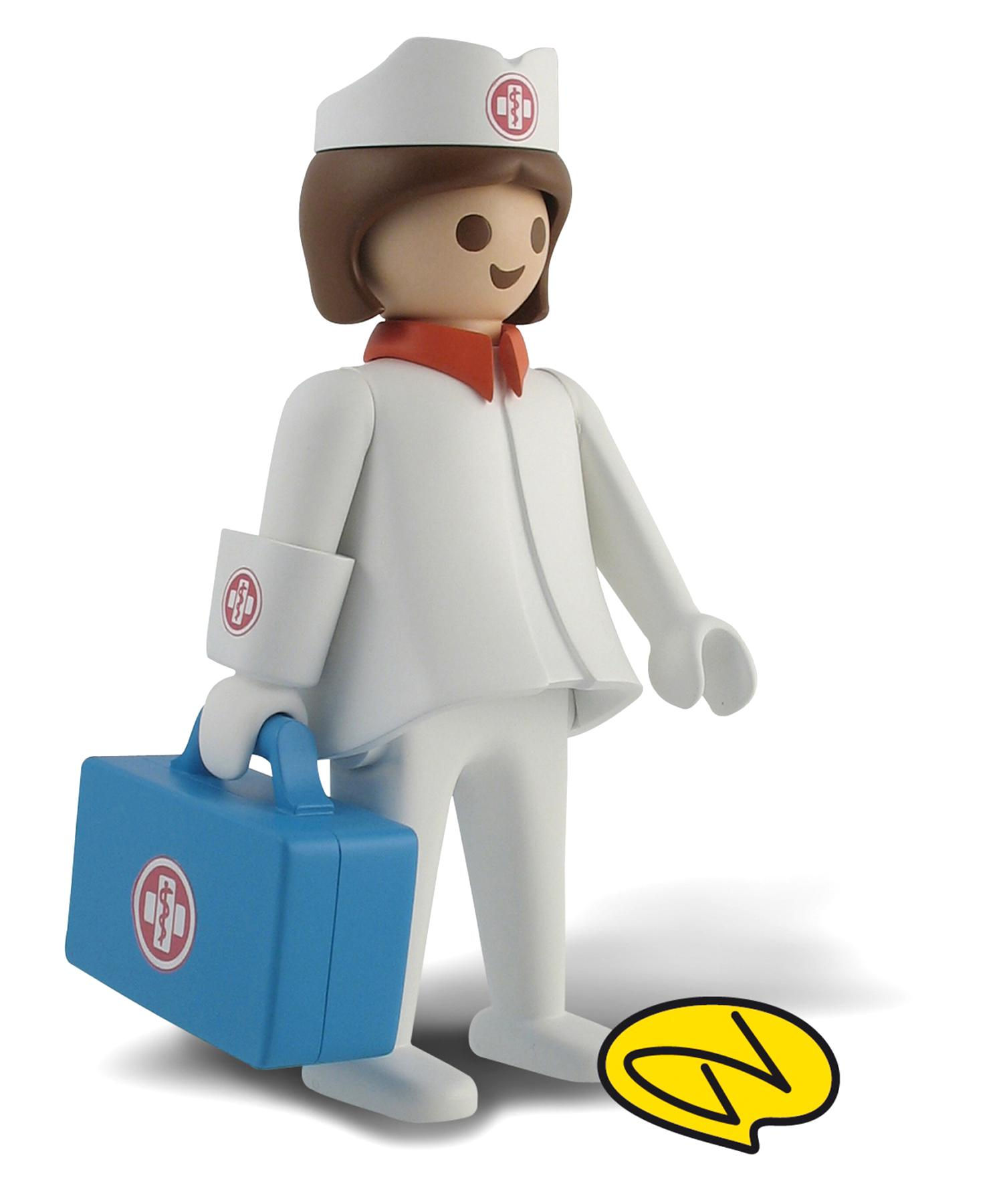 infirmiere playmobile d'occasion