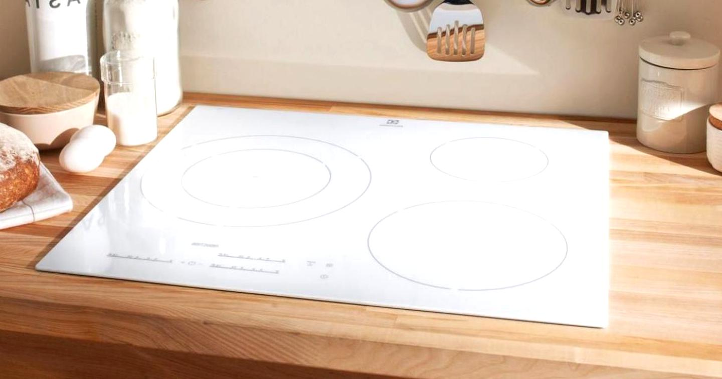 table cuisson a induction blanche d occasion