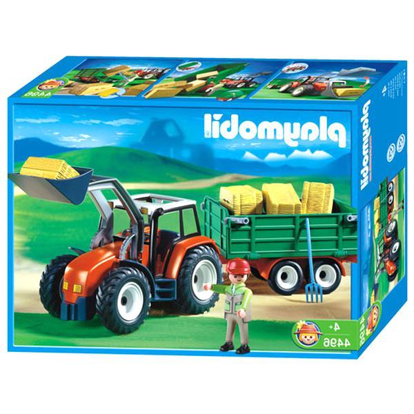 tracteur playmobil 4496 d'occasion