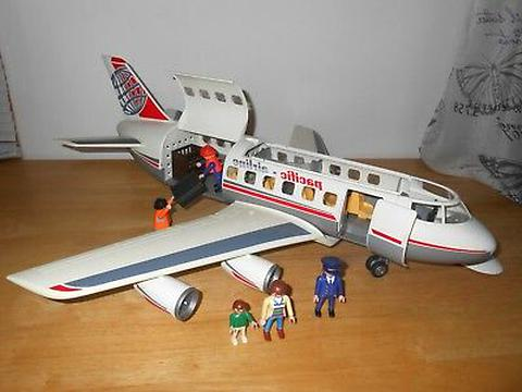 pneu avion playmobile d'occasion