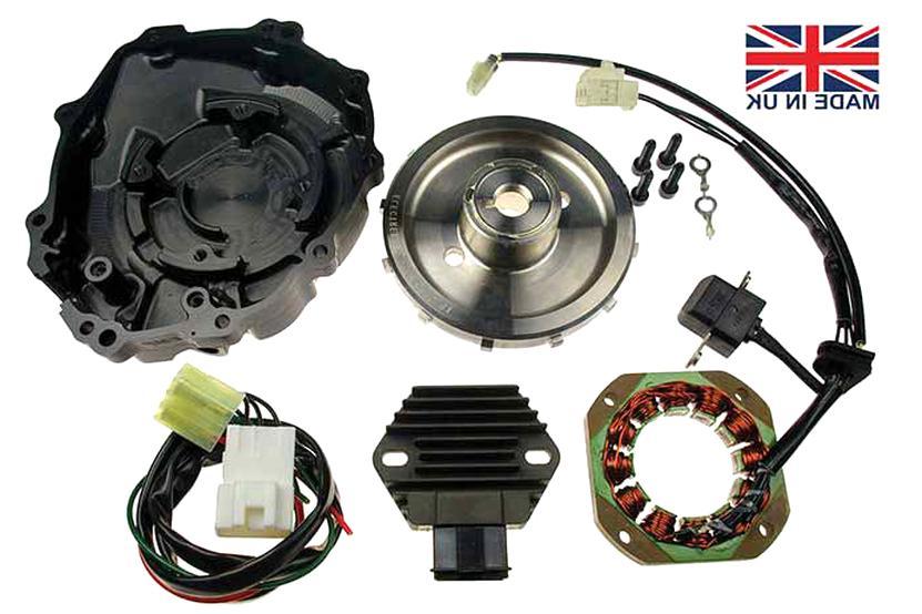 Joint de Couvercle de lalternateur Stator Compatible avec Honda CBR 1000 RR 2004-2007