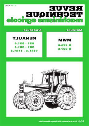 revue technique tracteur agricole d'occasion