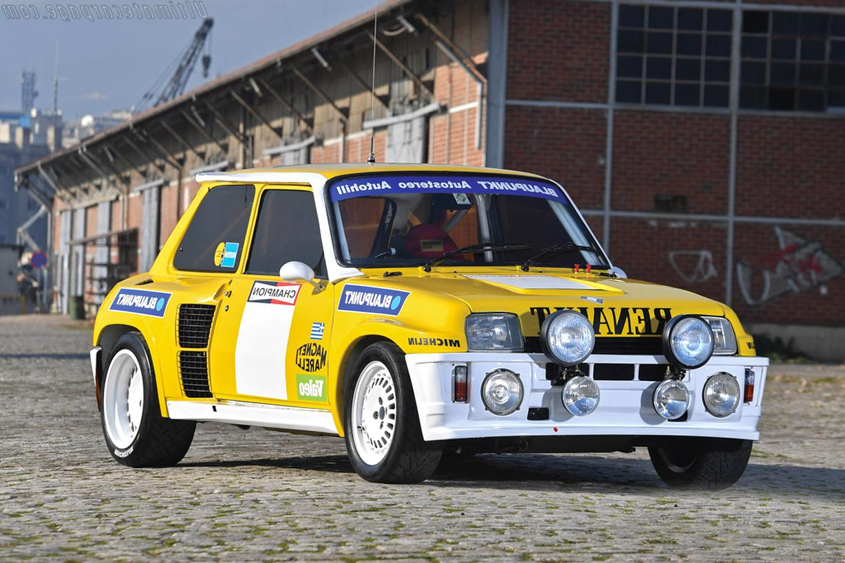 renault 5 turbo tour corse d'occasion