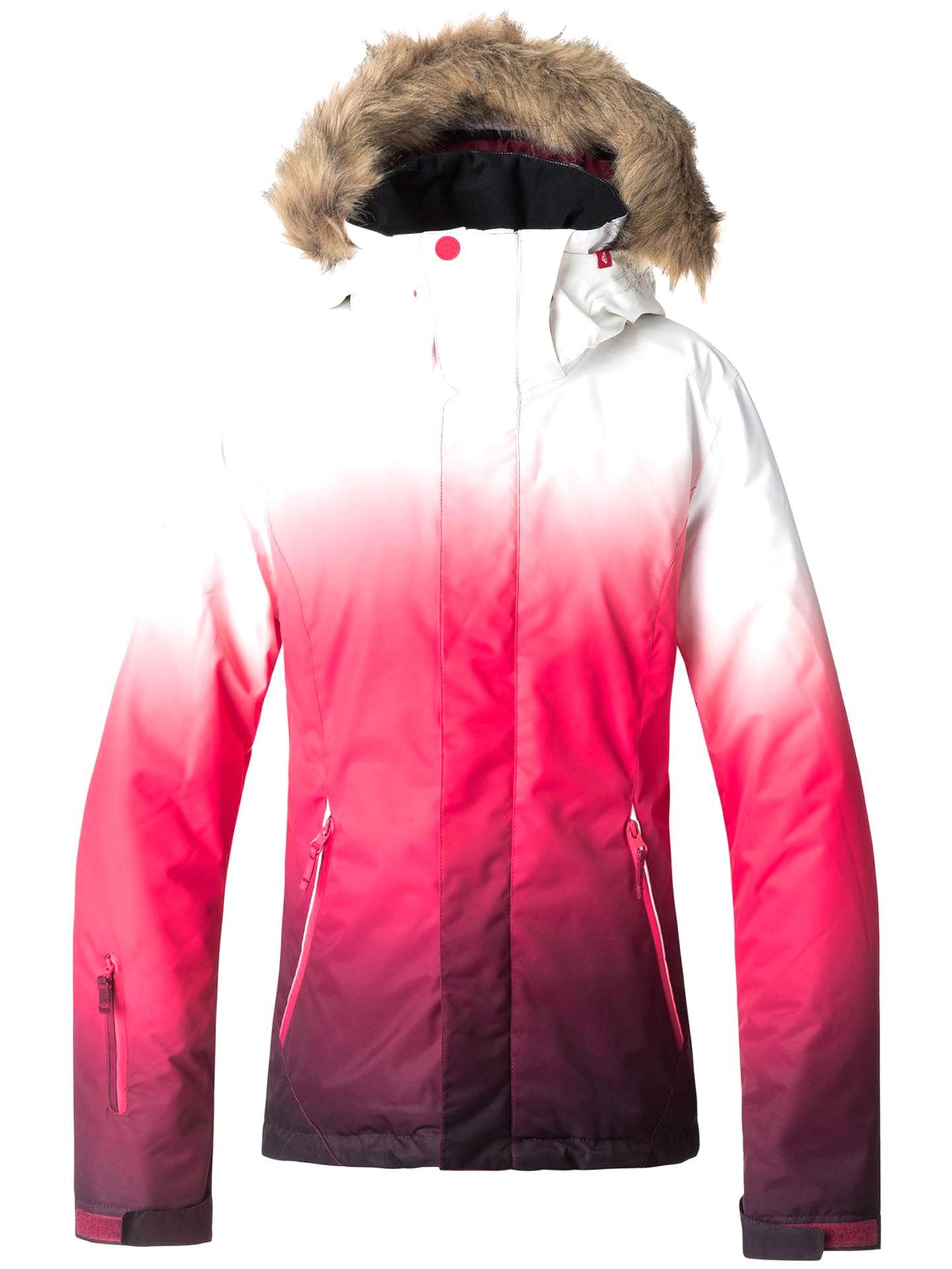 sélection premium 8e7f9 ac830 Roxy Roxy Jet Ski SE Veste Femme Tea Berry_Wave Gradien