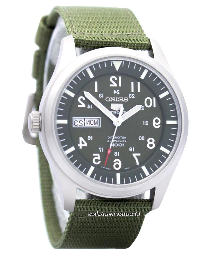 seiko 5 military automatic d'occasion
