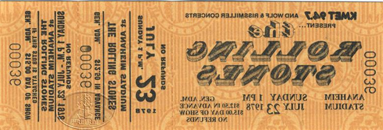 concert rolling stones ticket d'occasion