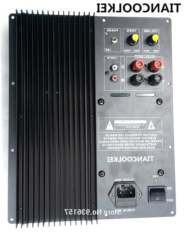 home subwoofer amplifier d'occasion