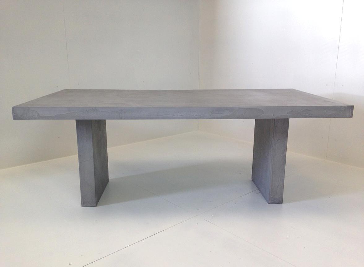 Table En Béton Ciré Et Bois table beton cire d'occasion   plus que 2 à -70%