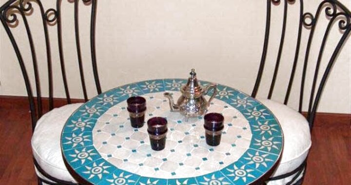 Table Zellige Occasion