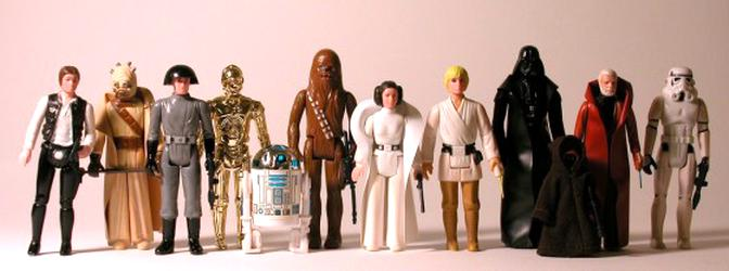 star wars figures 1977 d'occasion