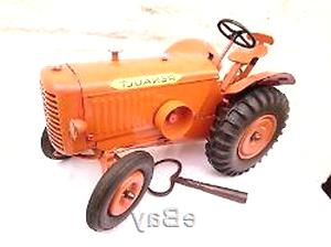tracteur tole jouet d'occasion