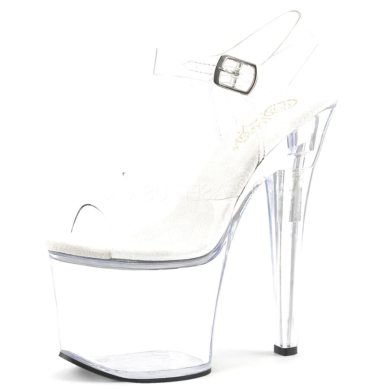 chaussure pleaser transparente d'occasion