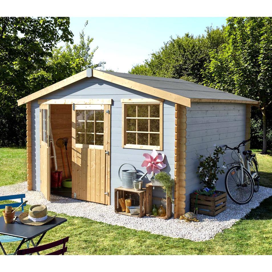 cabane jardin bois d'occasion