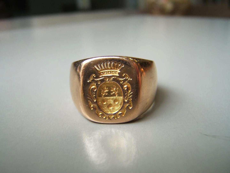 bague or heraldique