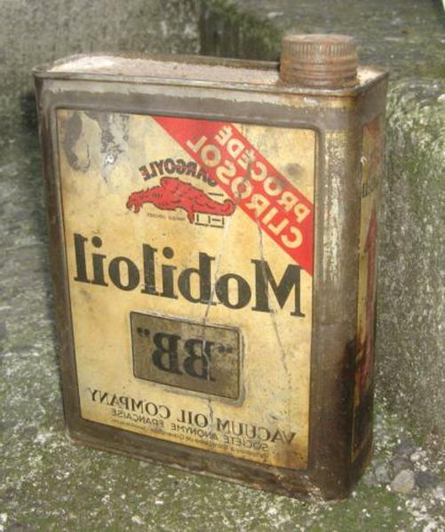 bidon huile tin oil d'occasion