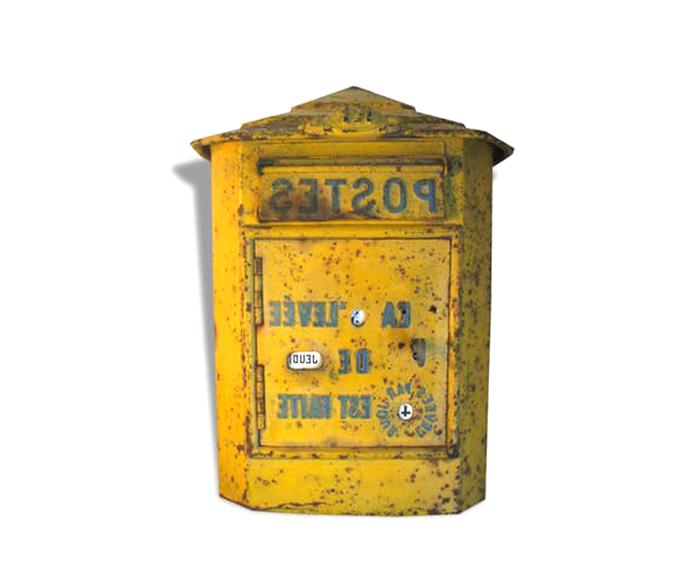 Ancienne Boite Lettres Poste D Occasion