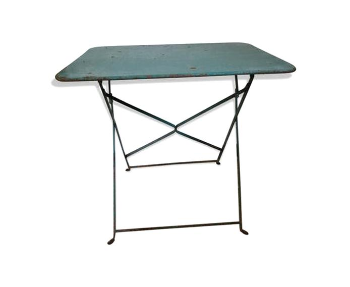 Table Bistrot Ancienne Pliante d\'occasion