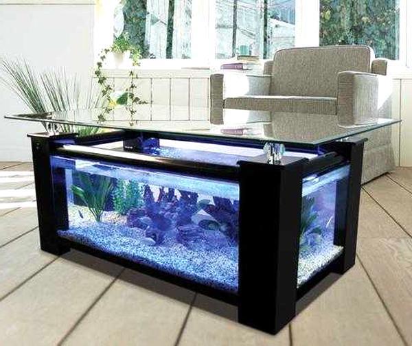 table aquarium d'occasion