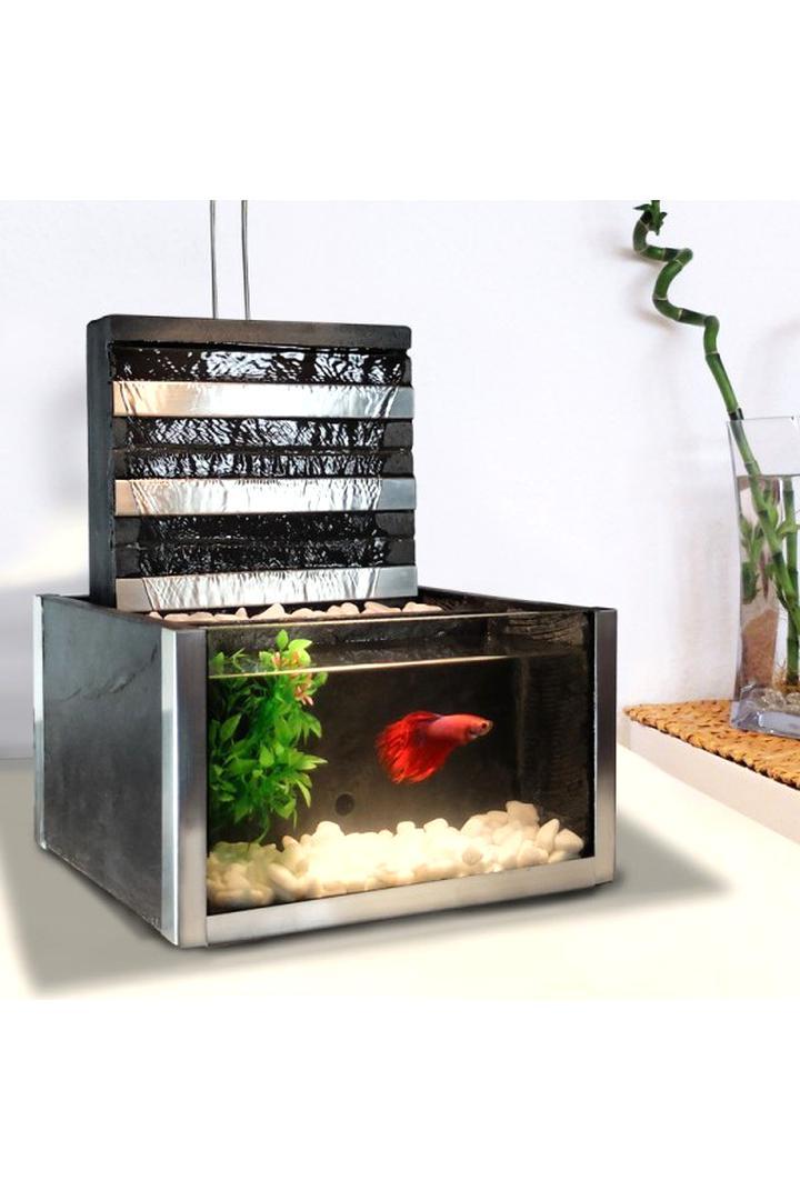 fontaine aquarium d interieur d'occasion