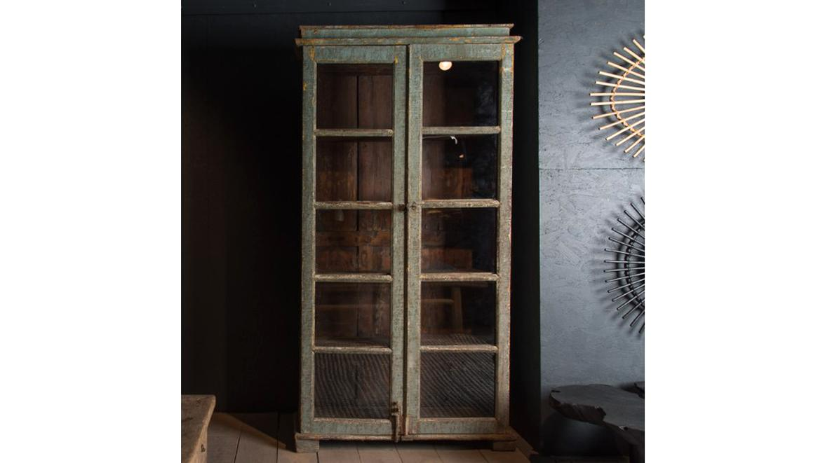 Armoire Ancienne Vitree d'occasion
