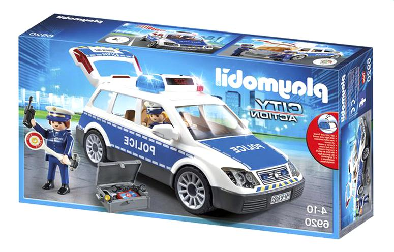 voiture police playmobil d'occasion