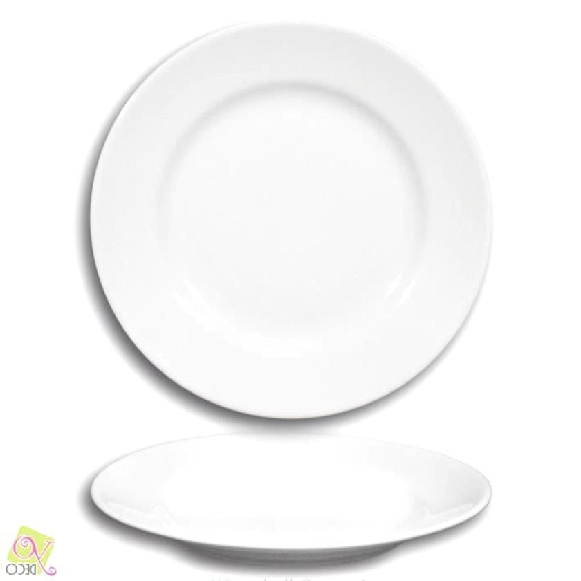 assiettes blanche d'occasion