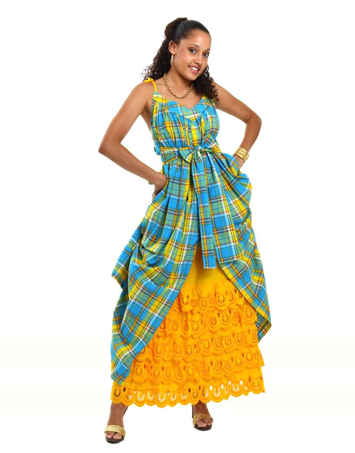 robe creole d'occasion