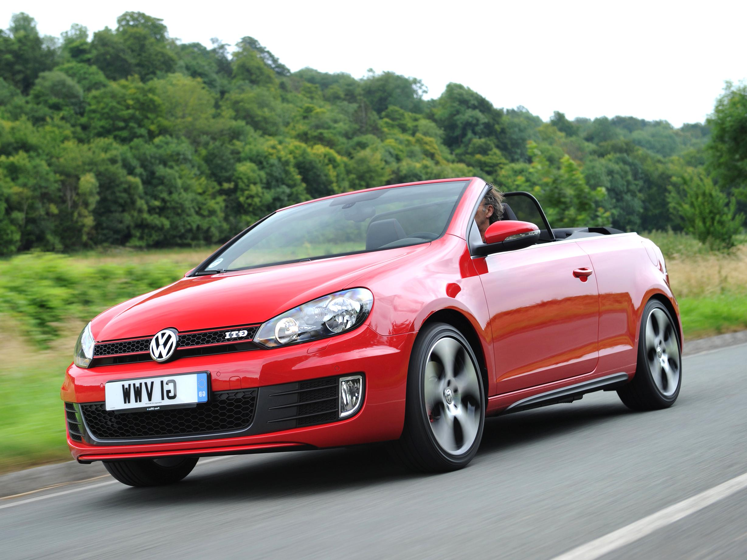 golf gti cabriolet d'occasion