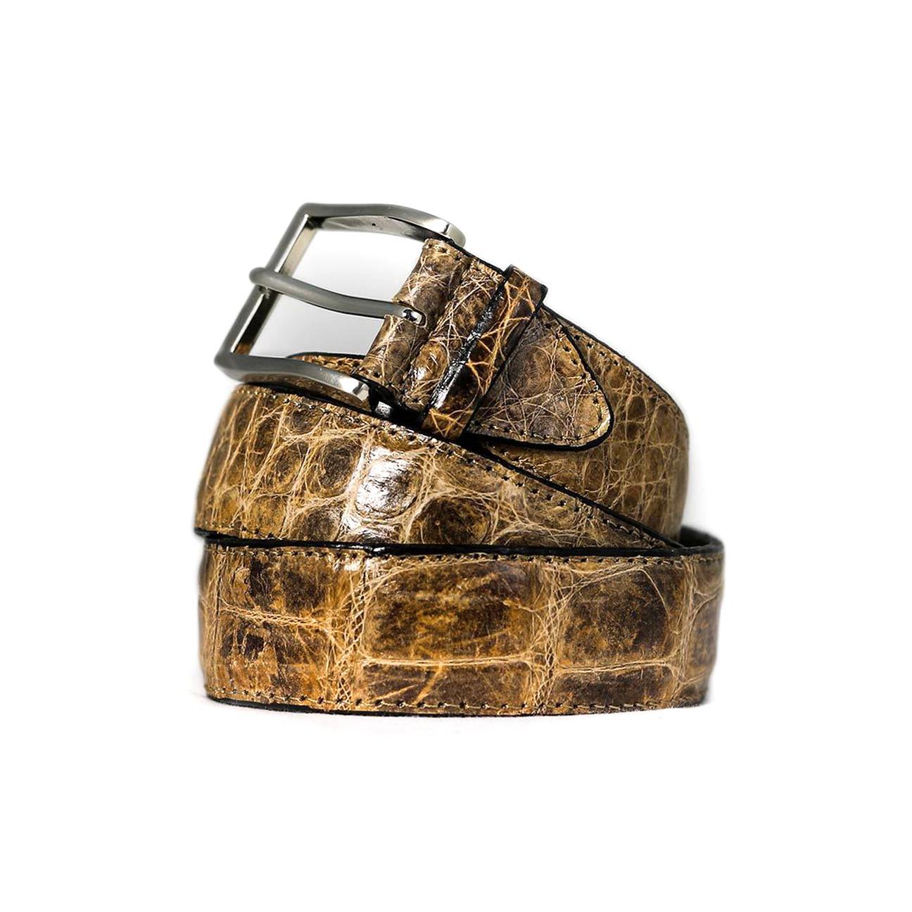ceintures crocodile d'occasion