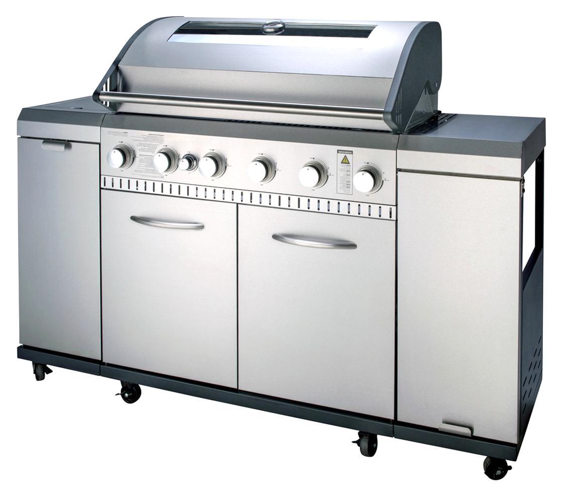 Barbecue Gaz Inox Doccasion Plus Que 2 à 75