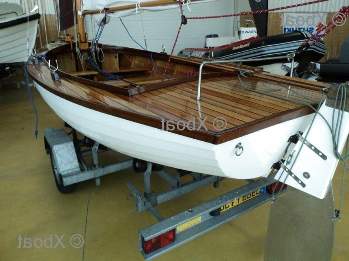 bateau bois a restaurer d'occasion