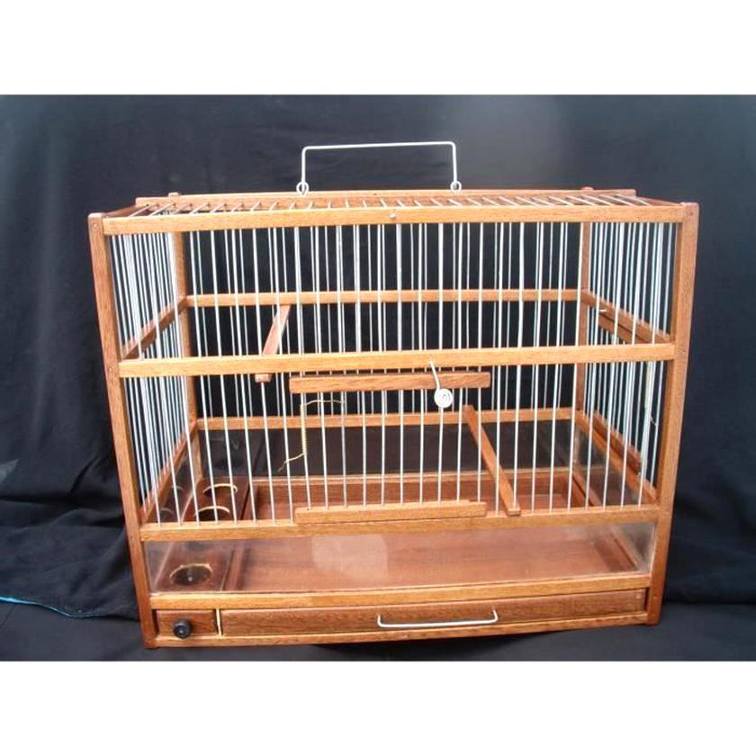 cage bois oiseaux cage d'occasion