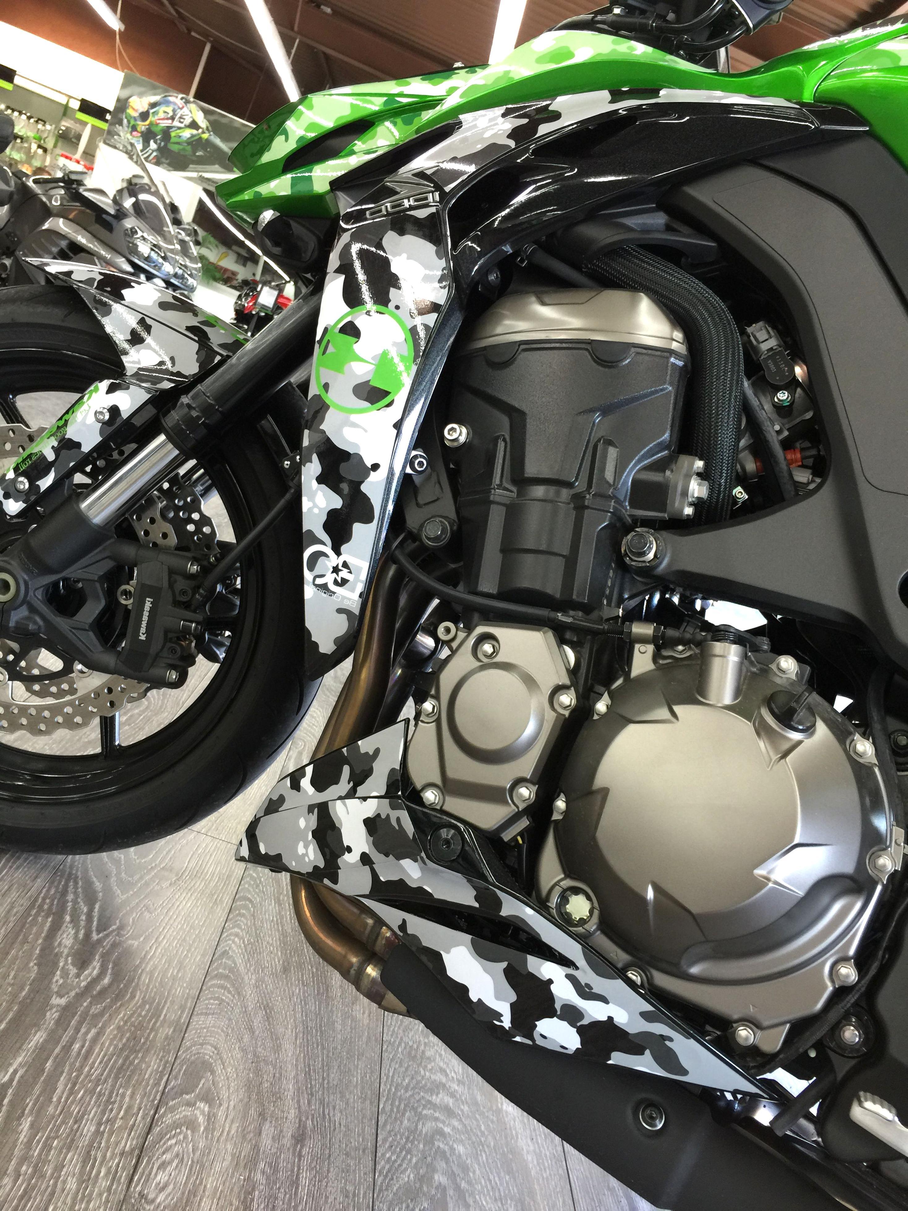 psler Moto Roues Jantes Int/érieur Autocollant pour Kawasaki Z1000