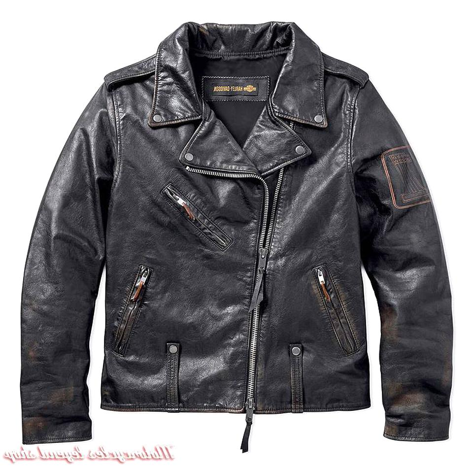 blouson harley cuir d'occasion