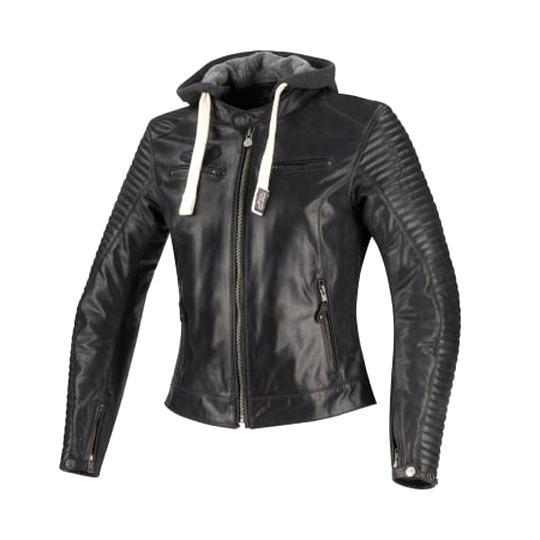 blouson cuir femme moto d'occasion