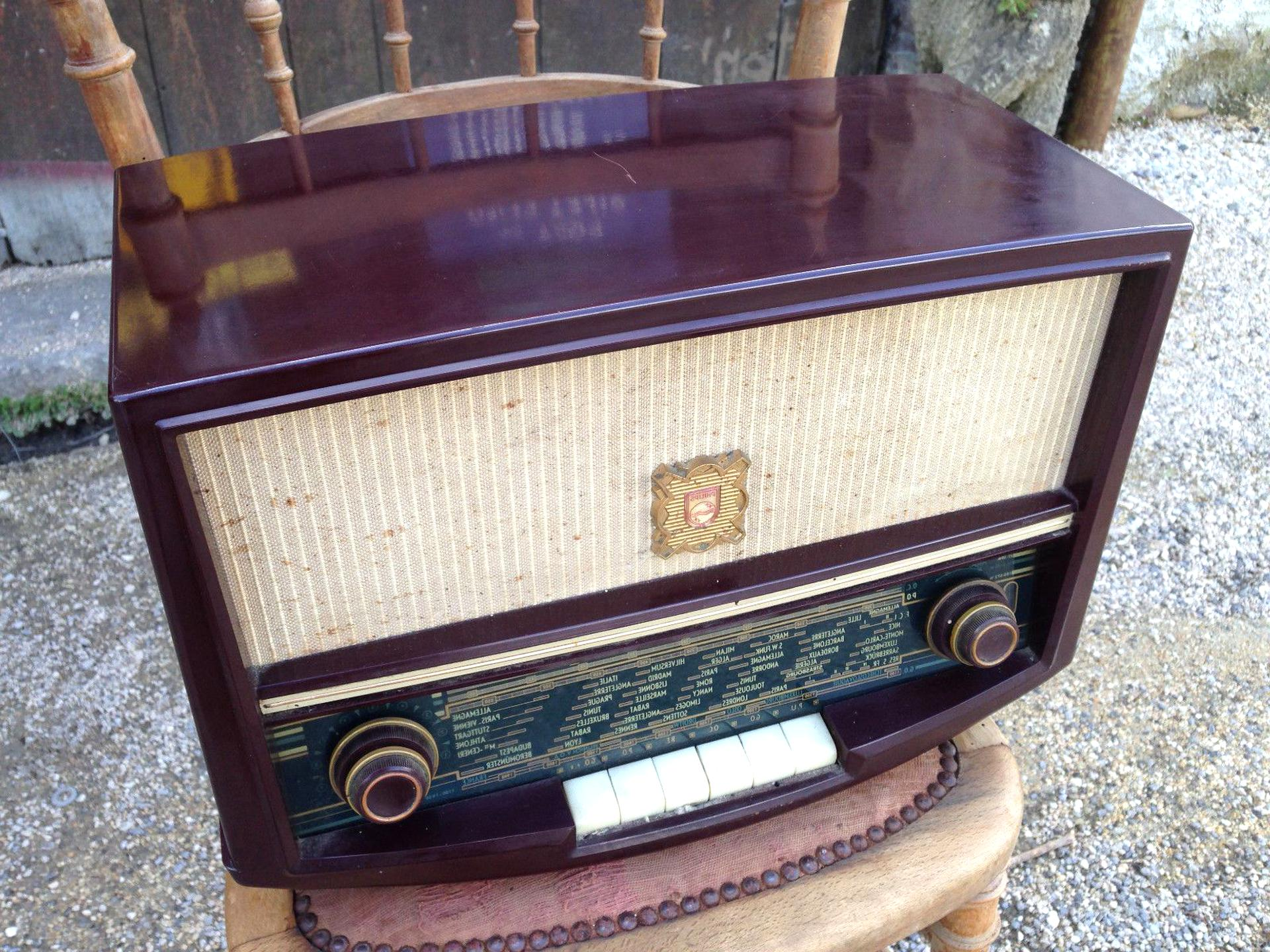 poste radio lampes radio tsf d'occasion